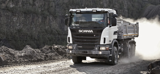 Scania special-purpose vehicle (photo)
