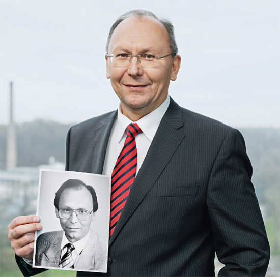 LUBOMÍR ANTOŠ, head of technical projects, is 59 and has been with ŠKODA for 35 years. (photo)